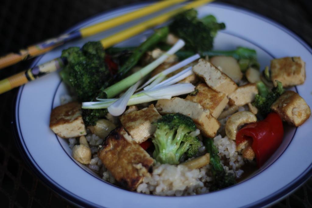 Stir Fry with Tofu