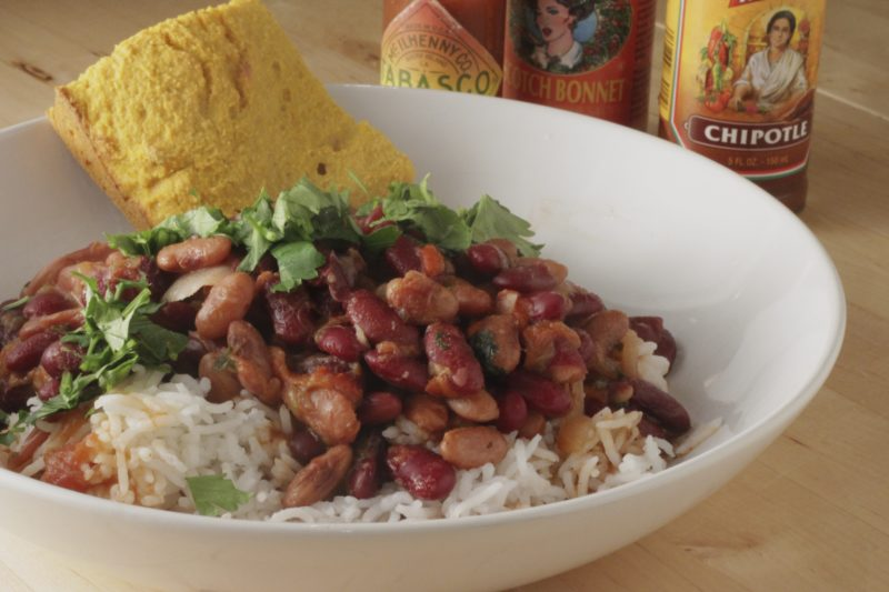 Red Beans and Rice - Healthy Mama Cooks