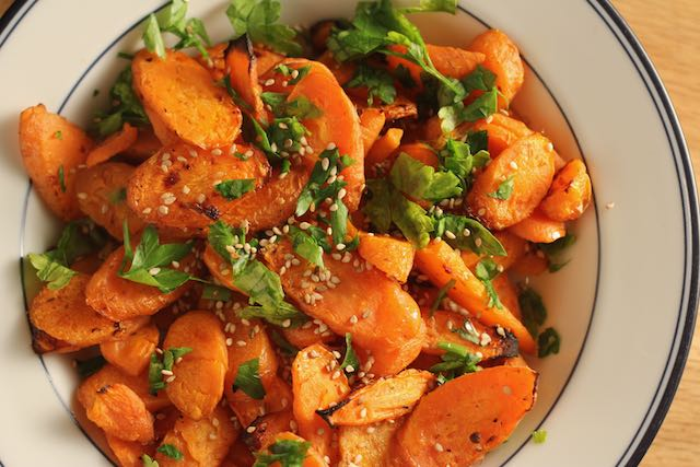 Lemon Roasted Carrots