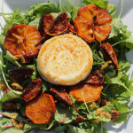 Caramelized Fig & Citrus Salad w/Grilled Goat Cheese