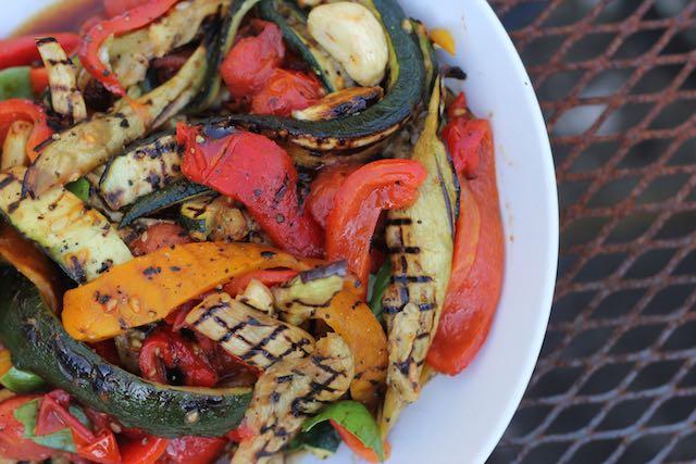 Grilled Ratatouille Salad Recipe — Dishmaps
