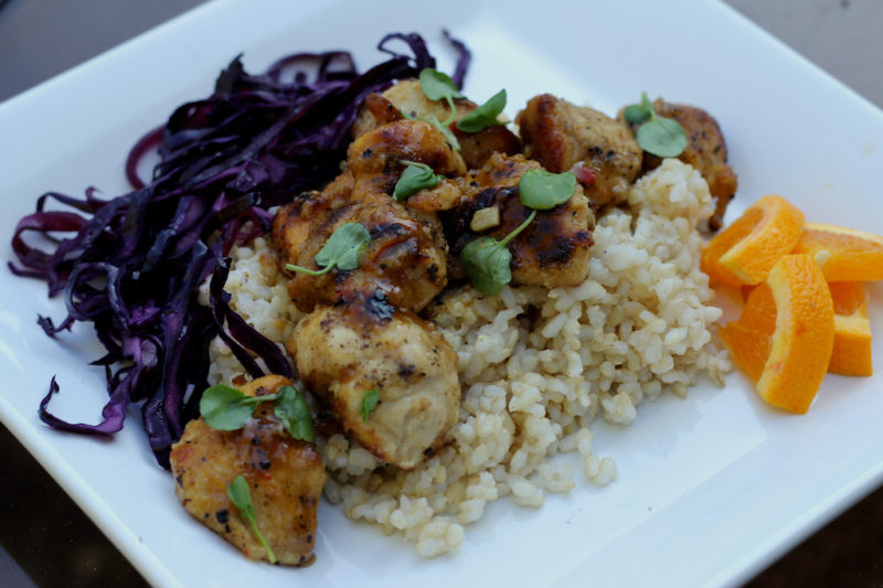 Quick, Healthy Orange Chicken