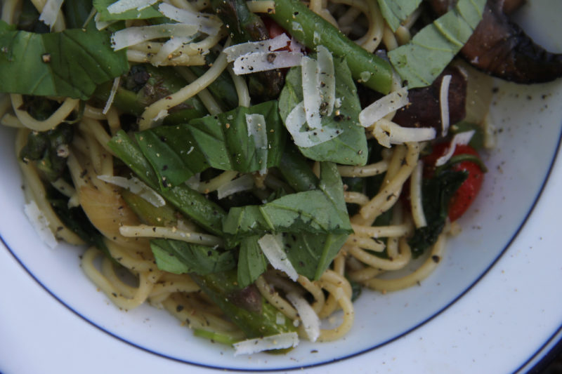 Green Pasta Primavers