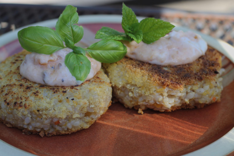 How To Make Risotto Cakes With Leftover Risotto