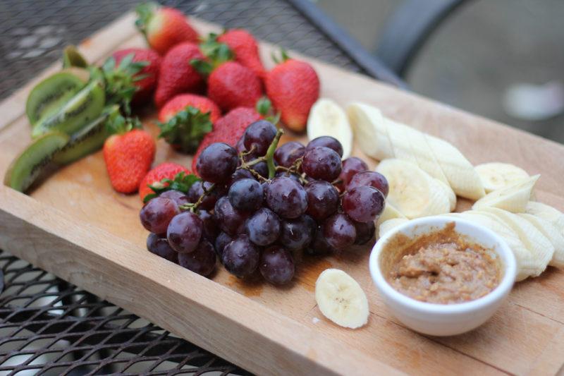 Fresh Fruit with Cashew & Honey Butter