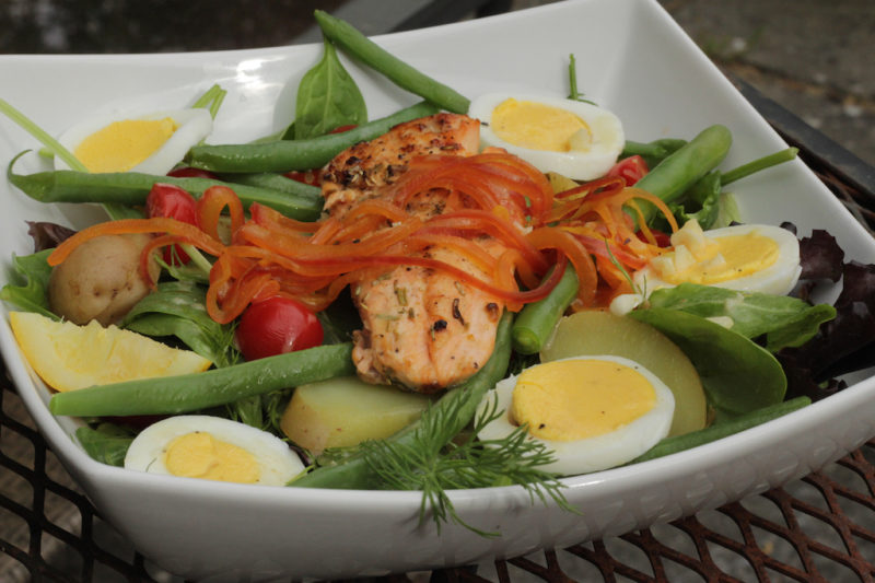 Grilled Chicken Nicoise Salad Recipes — Dishmaps