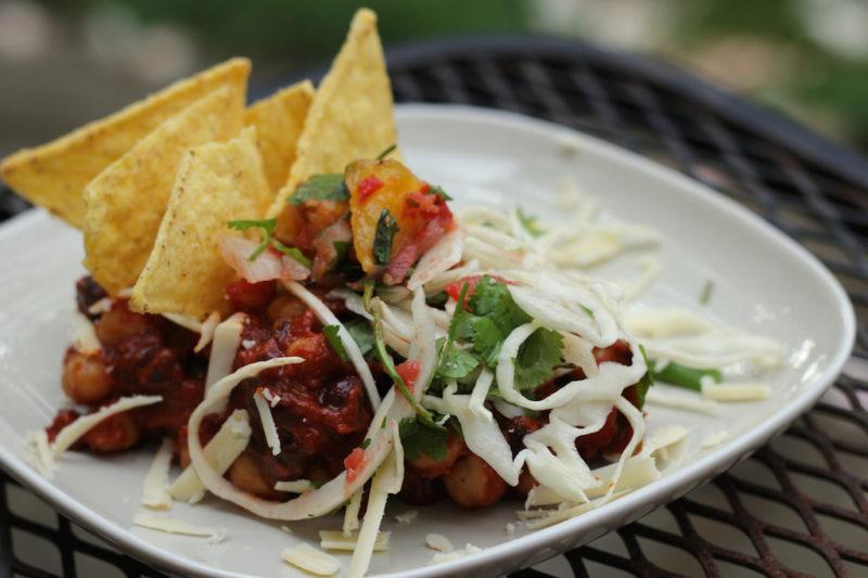 Three Bean Taco Salad - Healthy Mama Cooks