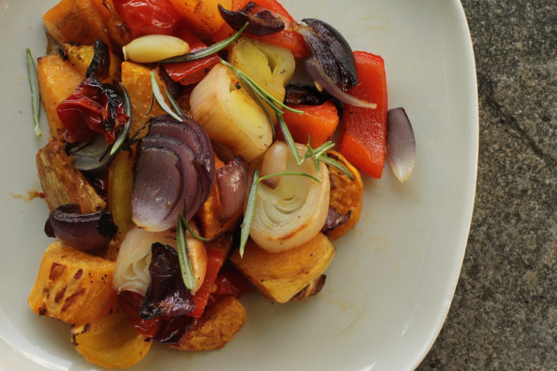 Fall Roasted Root Vegetables
