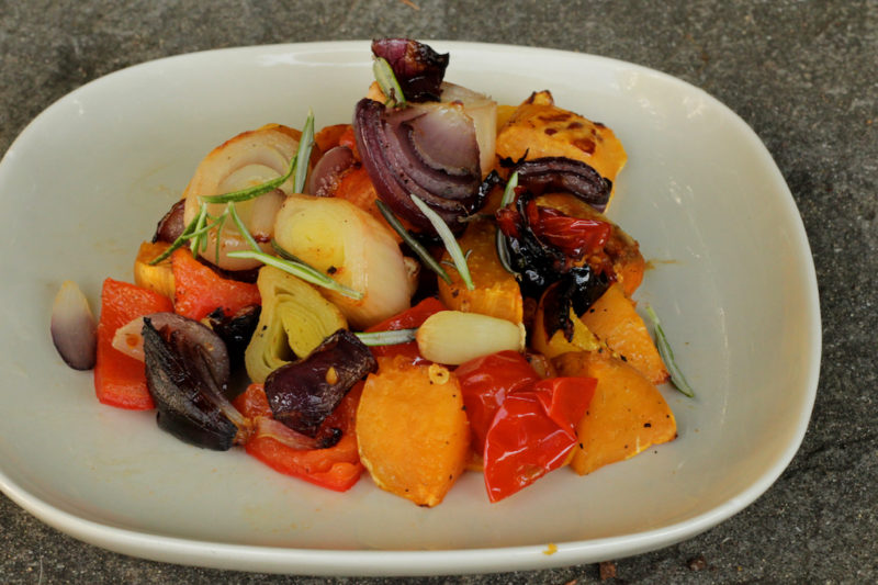 Fall Roasted Vegetables with Rosemary