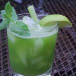 Celery and Smoke Margaritas
