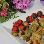 Chocolate Covered Physalis and Strawberries