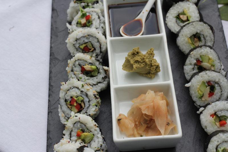 Vegetable Sushi Bites